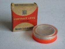 Rare India Made Agfa Gevaert 30mm Portrait Filter fr Agfa Click III / IV Cameras