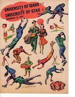 1947 (Nov. 15) College Football Program, Utah Redskins @ Idaho Vandals