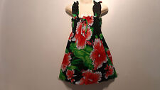 Nice Girl Dress Elasticated At Top 7 Inces Wide 18 Inches Long With Flowers