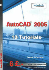 AutoCAD  2005: 10 Tutorials by Frede Uhrskov (Paperback, 2004)