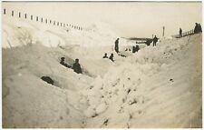 More details for drumlithie snowdrift on railway track near east kinmonth road bridge postcard