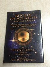 Angels of Atlantis Oracle Cards Inspiration Healing Angelic King Tarot Fortune