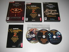 Neverwinter Nights Legends-NWN 1 + 2 add-ons + NWN 2 & Soundtrack DVD PC DVD