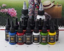 DragonHawk Tattoofarbe 14in1 + 2x Tattoo Farbe Tätowierfarbe Ink Colors Set