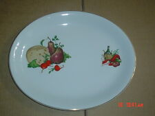 Alfred Meakin Glo White Ironstone Oval Platter Steak Fish Plate #3