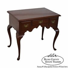 Biggs Kittinger Solid Mahogany Queen Anne Lowboy