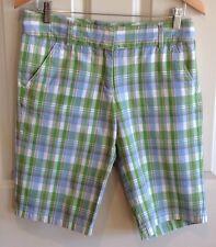 J Crew City Fit Plaid Shorts - Size 4