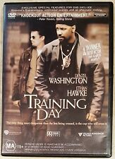 Training Day (Denzel Washington & Ethan Hawke) DVD in GREAT condition (Region 4)