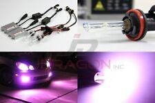 H11 12000K Purple Pink 55W Slim AC Ballast HID Conversion Kit Xenon Bulb