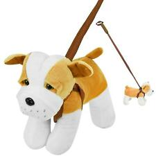 Toy Dog on Lead Choice of 4 Assorted