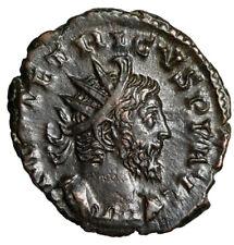 "Tetricus I Antoninianus ""SALVS AVGG Salus, Feeding Snake"" RIC 126 Good VF"