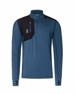 On-Running Weather Clima Shirt - Men's L - Navy/Storm - Brand New
