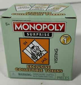 Monopoly Surprise Series1 Rare Set Exclusive Collectible Tokens  Sealed New