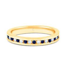 Anniversary Eternity Not Enhanced Yellow Gold Fine Rings