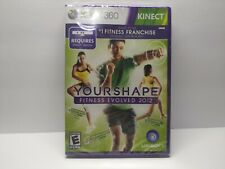 Your Shape: Fitness Evolved 2012 (Microsoft Xbox 360, 2011) FACTORY SEALED