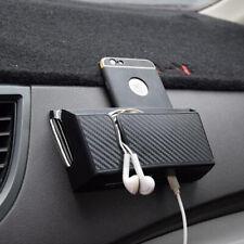 Universal Black Car Auto Accessories Organizer Storage Box Phone Holder 15x8cm
