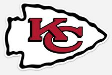 KANSAS CITY KC CHIEFS NFL FOOTBALL VINYL STICKER DECAL LOGO