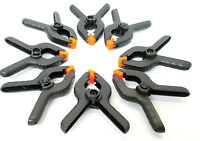 Spring Clip Clamp Set 8pc Clamps Plastic Stall Grips 2.5 Inch CL130