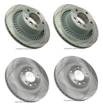 For Mercedes W463 G55 AMG Vented & Slotted Two Front+Two Rear Rotors OEM KIT
