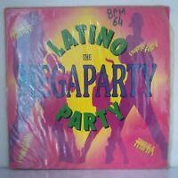 """Latino Party – The Megaparty (Vinyl, 12"""",Maxi 45 Tours)"""