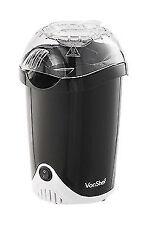VonShef 13036 Hot Air Popcorn Maker - Black