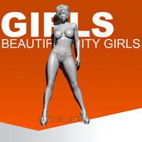 Unpainted 1/35 Catwalk Girl Resin Beauty Girl Figure Model Kit Unassembled GK