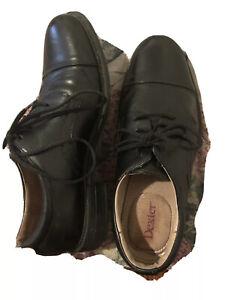 Dexter Men's Size 5.5 Black Lace up Oxford Shoes