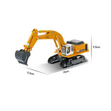 1/87 Scale Diecast Crawler Excavator Construction Vehicle Car Models Gift US