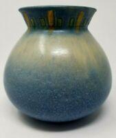 "Roseville WINDSOR 547-6 Blue Bulbous 6"" vase MINT"