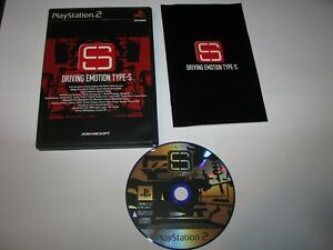 Driving Emotion Type S Playstation 2 PS2 Japan import US Seller
