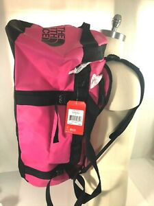 NEW The North Face Base Camp Duffel Bag LARGE - Mr. PINK / TNF Black (95L)