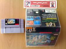 ☆ EVO E.V.O. SEARCH FOR EDEN Enix Super Nintendo SNES Super NES NTSC ☆ Rarest