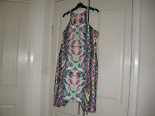 Ladies Dress Design Ministry of Style Size 14 Fully Lined  No Sleeves Polyester