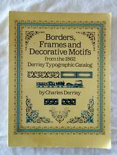 Borders, Frames and Decorative Motifs by Charles Derriey | PBK (typographic)