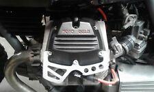 HEAD GUARDS PROTECTORS LIGHTENED MOTO GUZZI V35 V50 V65 V75 BRUSHED ALUMINIUM