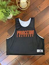 Warriors Vintage PrInceton Tigers Lacrosse Jersey Athletic Shirt L Xl