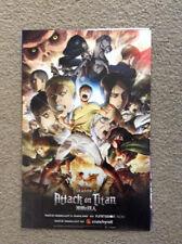 NYCC 2017 New York Comic Con Attack on Titan Season 2 Poster
