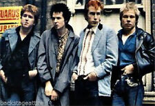SEX PISTOLS Group Photo Cloth Fabric Poster Flag Textile Tapestry Banner **NEW