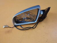 AUDI A4 B7 SALOON 2.0 TFSI '06 FRONT LEFT N/S WING MIRROR IN SILVER CODE LY7W