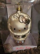Hello Kitty Sanrio 2005 Glass Holiday Ornament Eskimo Christmas
