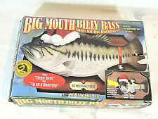 New listing Big Mouth Billy Bass Sings For The Holidays Gemmy Industries 2000 tested works