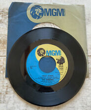 1972 The Osmonds 45 record 'Crazy Horses' flip side is 'That'S My Girl'