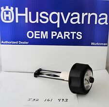 Husqvarna OEM 532161493 Craftsman Poulan  Gas Tank Cap With Gauge 161493 MS
