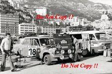 Salvador canellas Gual SEAT 124D Especial 1800 Monte Carlo Rally 1977 Fotografia