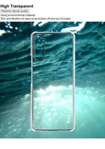 For Sony Xperia 5 II / 1 II / 10 II Crystal PC Hard Plastic Back Case Cover