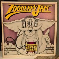 """98KZEW - Zooberry Jam - 12"""" Vinyl Record LP - EX"""