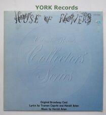 HOUSE OF FLOWERS - Original Broadway Cast - Excellent Con LP Record CSP COS 2320