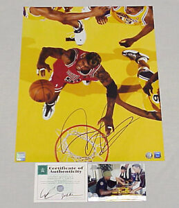Dennis Rodman signed autographed Chicago Bulls 16x20 photo (Superstar Greetings)