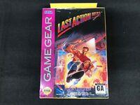 Last Action Hero Sega Game Gear New Sealed