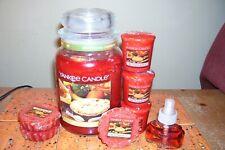 yankee candle 22oz JAR BE THANKFUL + 3 TARTS + 3 VOTIVES + SINGLE REFILL